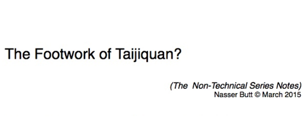 The Footwork of Taijiquan